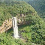Cascata do Caracol - Mapa de Gramado. Foto: Bruna Oliveira, Secretaria de Turismo do RS