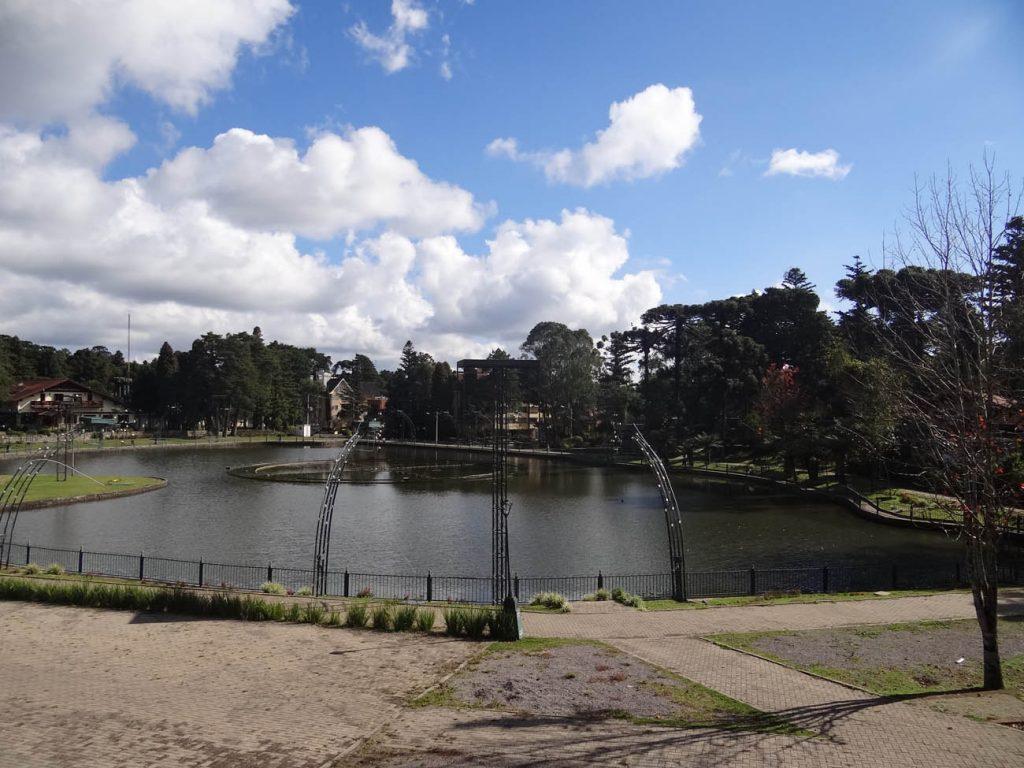 Lago Joaquina Rita Bier - Mapa de Gramado. Foto: Bárbara Keller
