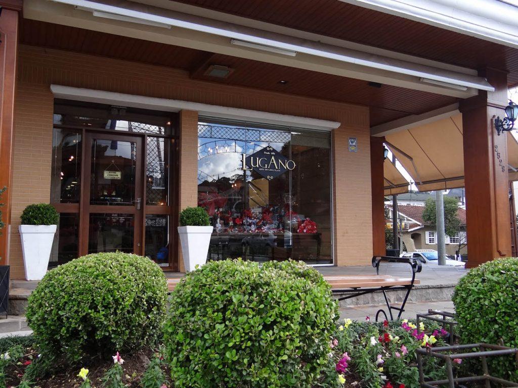 Chocolate Lugano: Loja Boulevard - Mapa de Gramado. Foto: Bárbara Keller