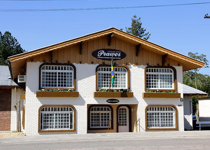 Chocolate Prawer: fábrica - Mapa de Gramado. Foto: Divulgação, site Chocolate Prawer