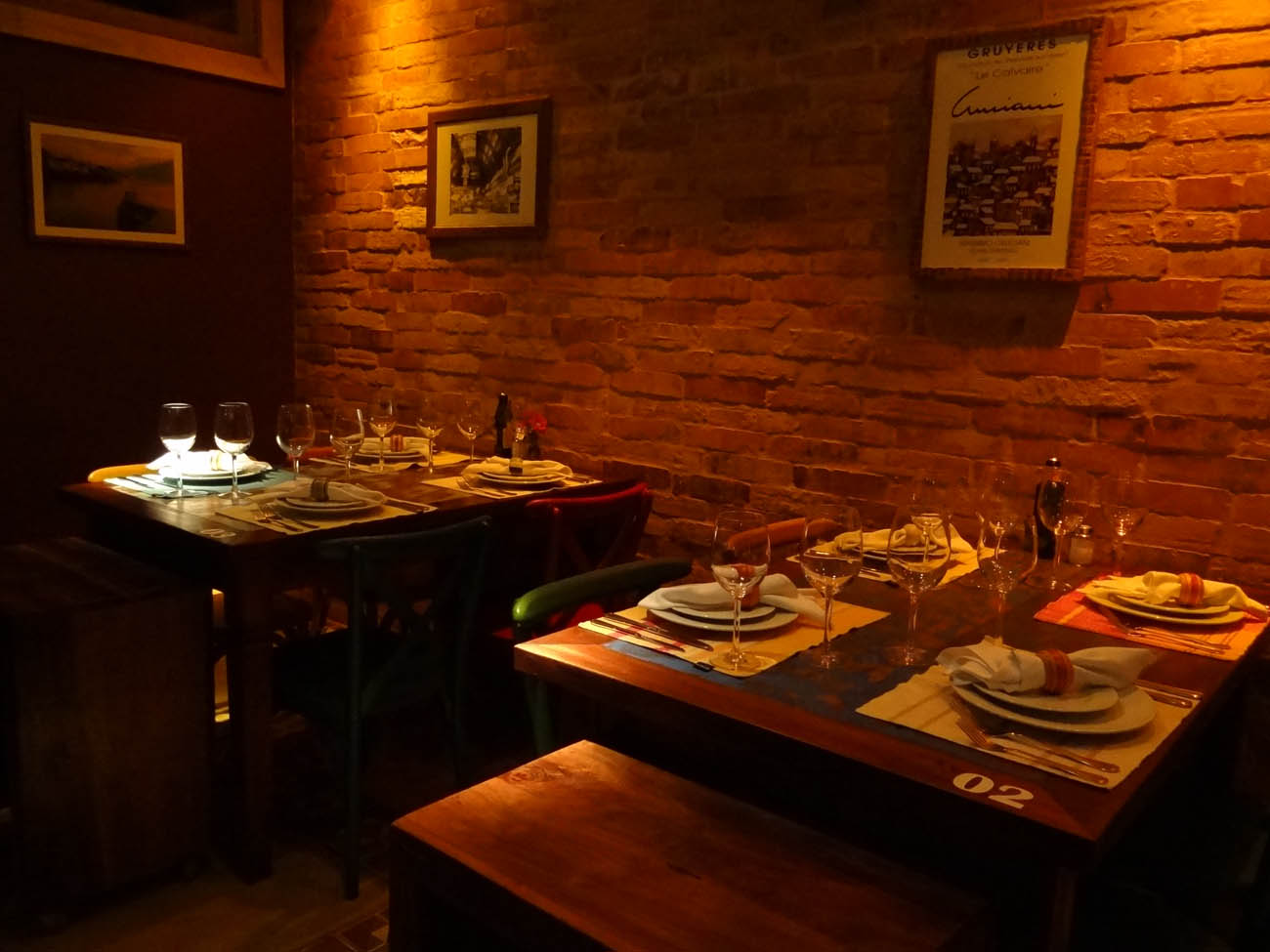 Malbec Restaurante Mapa de Gramado. Foto: Bárbara Keller #BC4703 1300x975