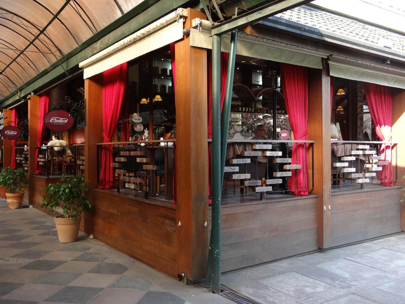 Caracol Chocolates: Loja Rua Coberta e Caracol Gourmet - Mapa de Gramado. Foto: Bárbara Keller