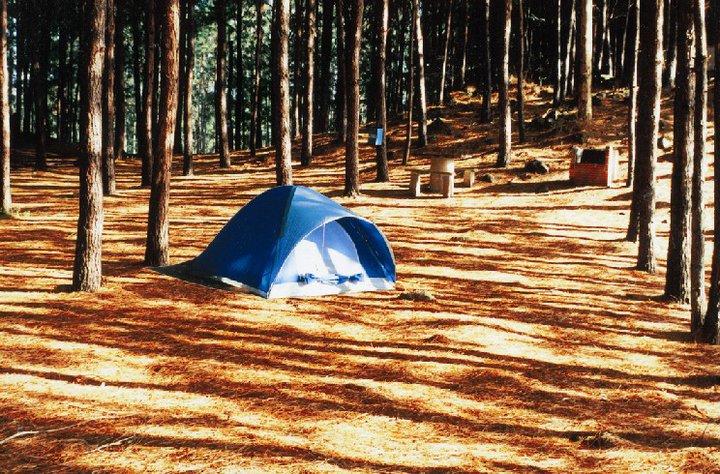 Parque da Cachoeira: camping - Mapa de Gramado. Foto: Divulgação, facebook Parque da Cachoeira