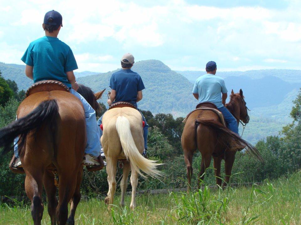 Estação Verde Adventure Park: passeio a cavalo - Mapa de Gramado. Foto: Divulgação, facebook Estação Verde Adventure Park