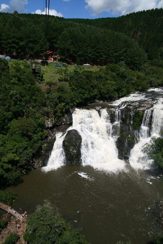 Parque da Cachoeira - Mapa de Gramado. Foto: Divulgação, facebook Parque da Cachoeira