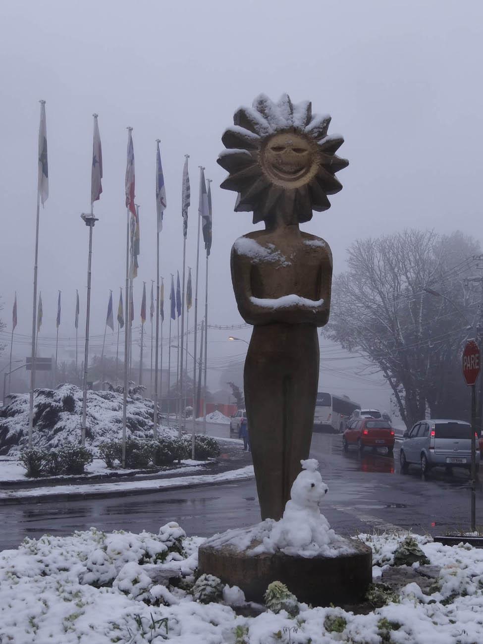 Kikito Neve em Gramado:...