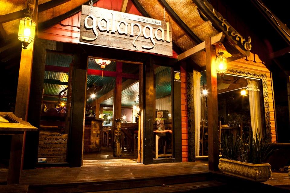 Restaurante Galangal, em Canela - Mapa de Gramado. Foto: Divulgação, Galangal.