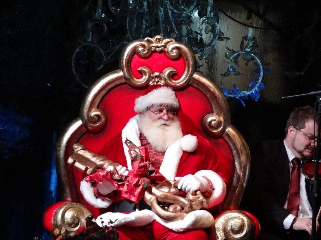 Abertura 28º Natal Luz de Gramado: Papai Noel - Mapa de Gramado. Foto: Bárbara Keller