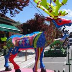 Exposição de renas decoradas do Natal Luz - Mapa de Gramado. Foto: Bárbara Keller