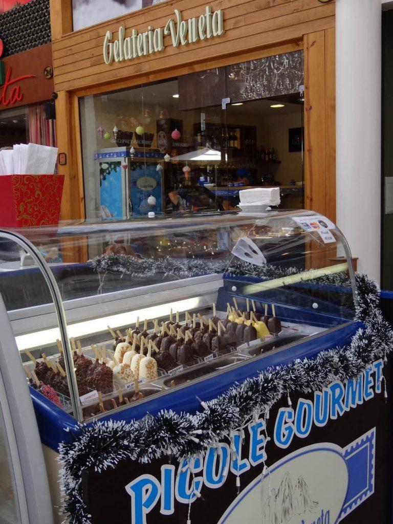 Gelateria Veneta: sorvete - Mapa de Gramado. Foto: Bárbara Keller