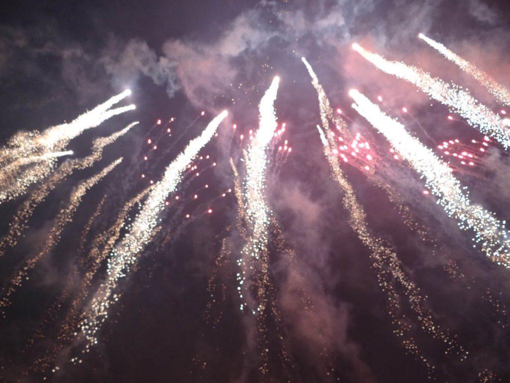 Virada do ano em Gramado: fogos de artifício - Mapa de Gramado. Foto: Bárbara Keller