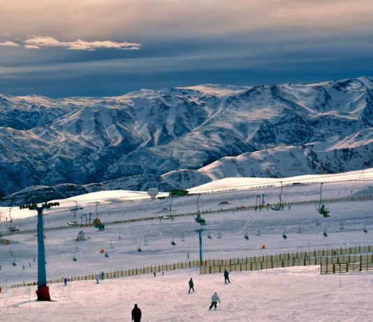 Valle Nevado no Chile