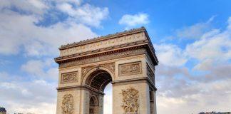 Arco do Triunfo - pontos turísticos de Paris
