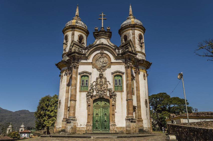 Igreja de São Francisco de Assis - Ouro Preto - Brasil