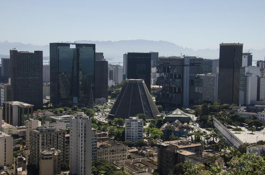 Parque das Ruínas: vista panorâmica da cidade. Foto: iStock, Getty Images