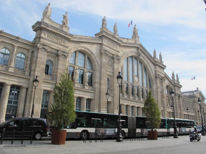 Gare du Nord - Trem Paris Londres