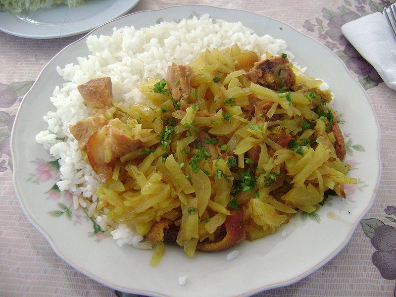 olluquito - comidas típicas peruanas