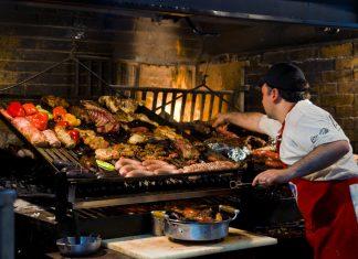 Parrilla - comida típica uruguaia