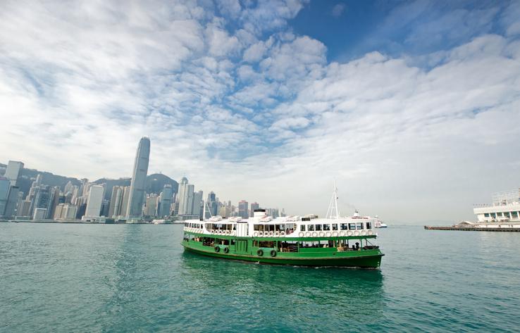 Star Ferry em Hong Kong