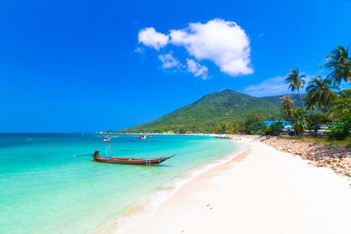 Ilha de Phi Phi na Tailândia