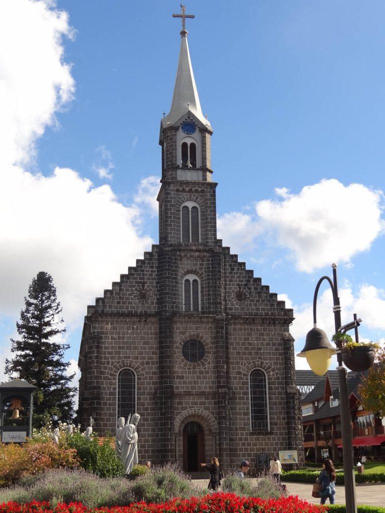 Igreja Matriz São Pedro - Mapa de Gramado. Foto: Bárbara Keller
