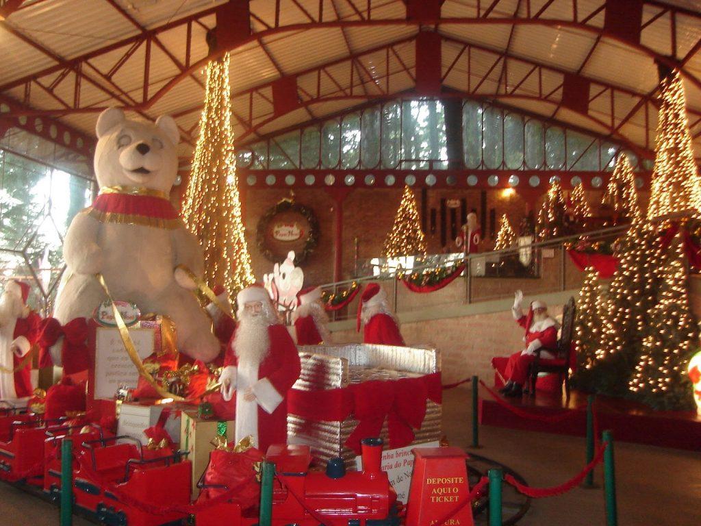 Aldeia do Papai Noel - Mapa de Gramado. Foto: Divulgação, Aldeia do Papai Noel