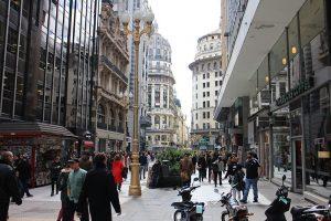 Calle Florida em Buenos Aires