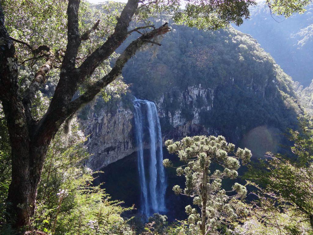 Cascata do Caracol - Mapa de Gramado. Foto: Bárbara Keller