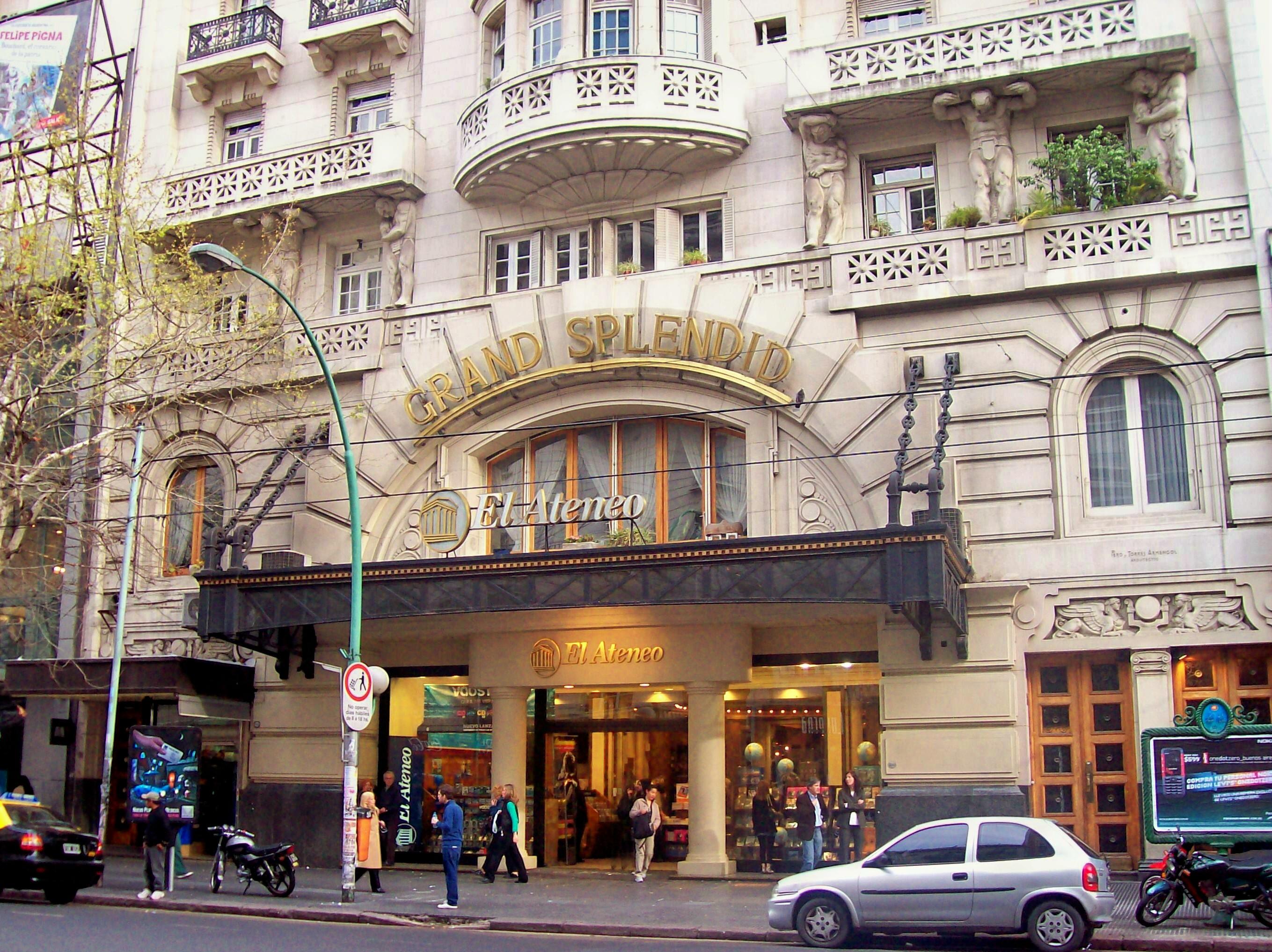 Livraria El Ateneo em Buenos Aires