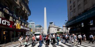 Avenida Corrientes em Buenos Aires