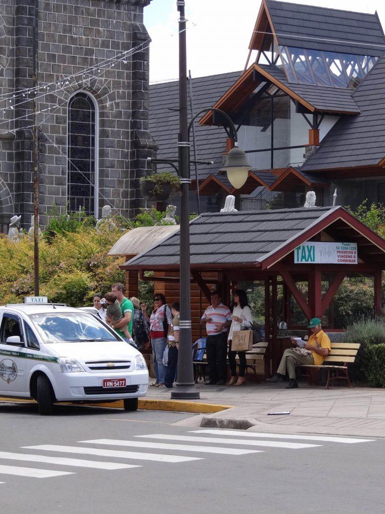 Pontos de táxi em Gramado: Igreja São Pedro - Mapa de Gramado. Foto: Bárbara Keller
