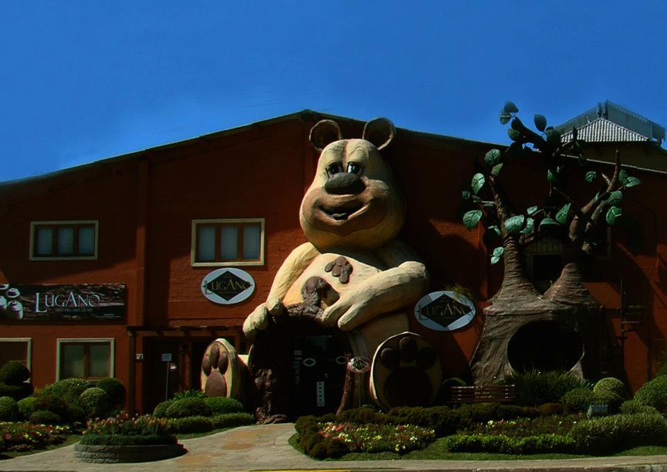 Chocolate Lugano: loja temática e fábrica - Mapa de Gramado. Foto: Divulgação, facebook Chocolate Lugano