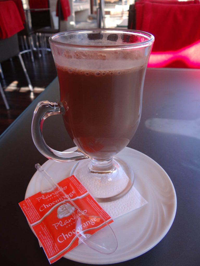 Chocolate quente Planalto - Mapa de Gramado. Foto: Bárbara Keller