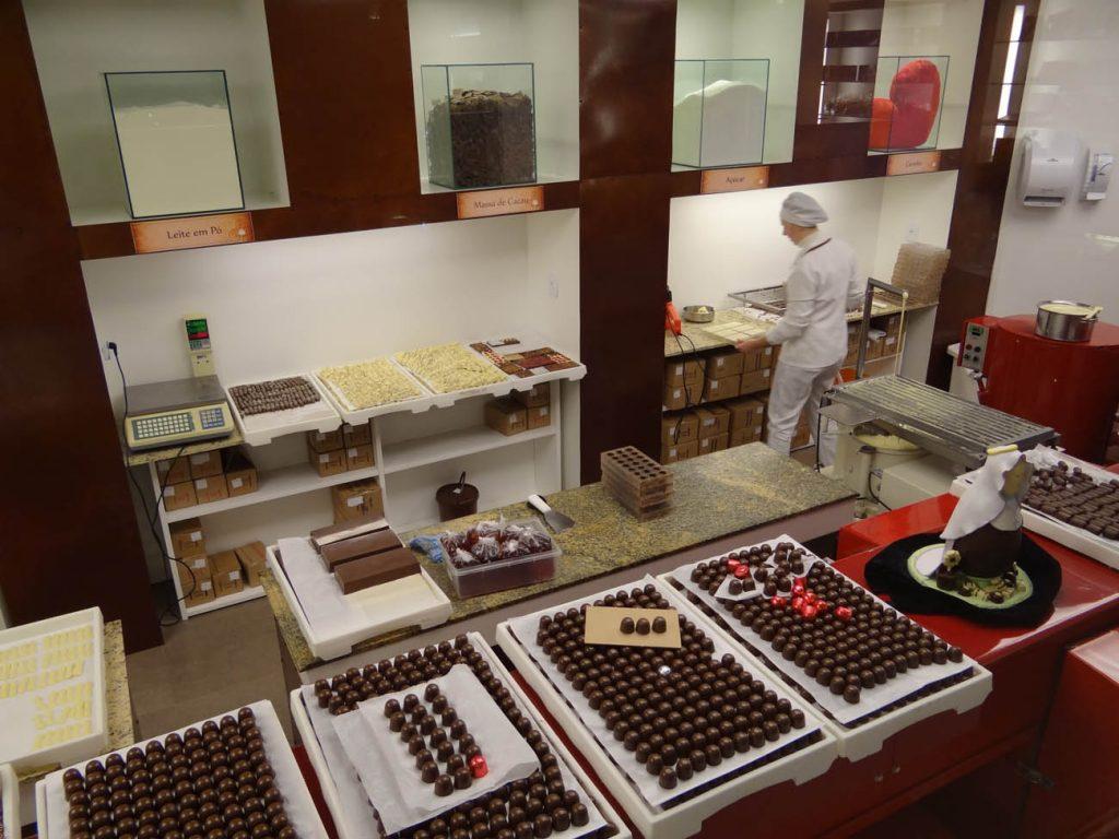Chocolate Planalto: Mini Fábrica - Mapa de Gramado. Foto: Bárbara Keller