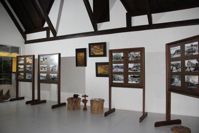 Parque do Pinheiro Grosso: museu - Mapa de Gramado. Foto: Ricardo Varela / Prefeitura Municipal de Canela