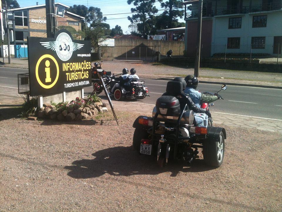 Apoema - Passeios de Triciclo - Mapa de Gramado. Foto: Divulgação, facebook Apoema - Passeios de Triciclo na Serra Gaúcha