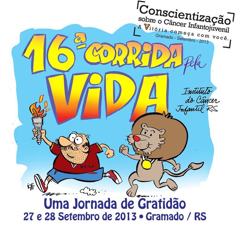 16ª Corrida pela Vida de Gramado - Mapa de Gramado. Foto: Divulgação