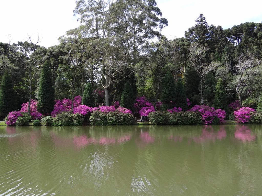 Primavera em Gramado: Lago Negro - Mapa de Gramado. Foto: Bárbara Keller