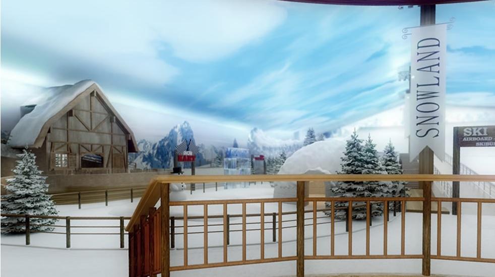 Inauguração Snowland - Mapa de Gramado. Foto: Divulgação, Snowland