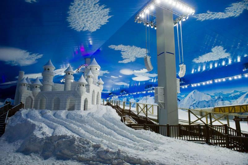 Snowland: parque de neve - Mapa de Gramado. Foto: Edison Vara / Snowland