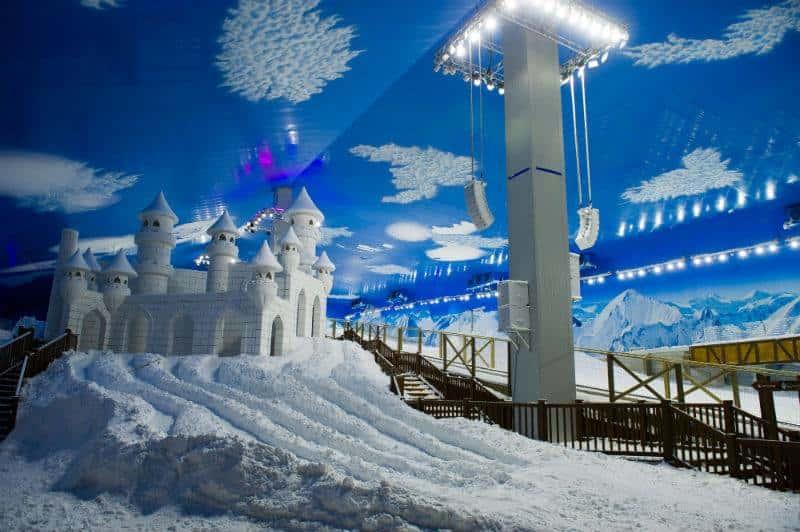 Snowland é ponto turístico em Gramado