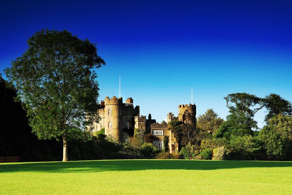 Malahide Castle em Dublin