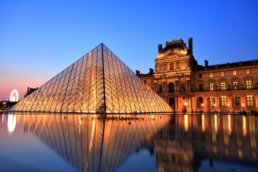 Museu do Louvre - pontos turísticos de Paris