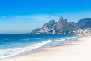 Praia de Ipanema no Rio de Janeiro