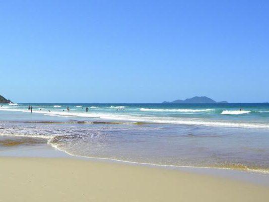 Praia dos Ingleses em Santa Catarina