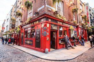 Pub Temple Bar em Dublin