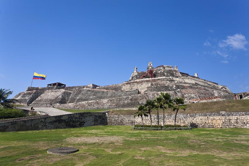 Castelo em Cartagena