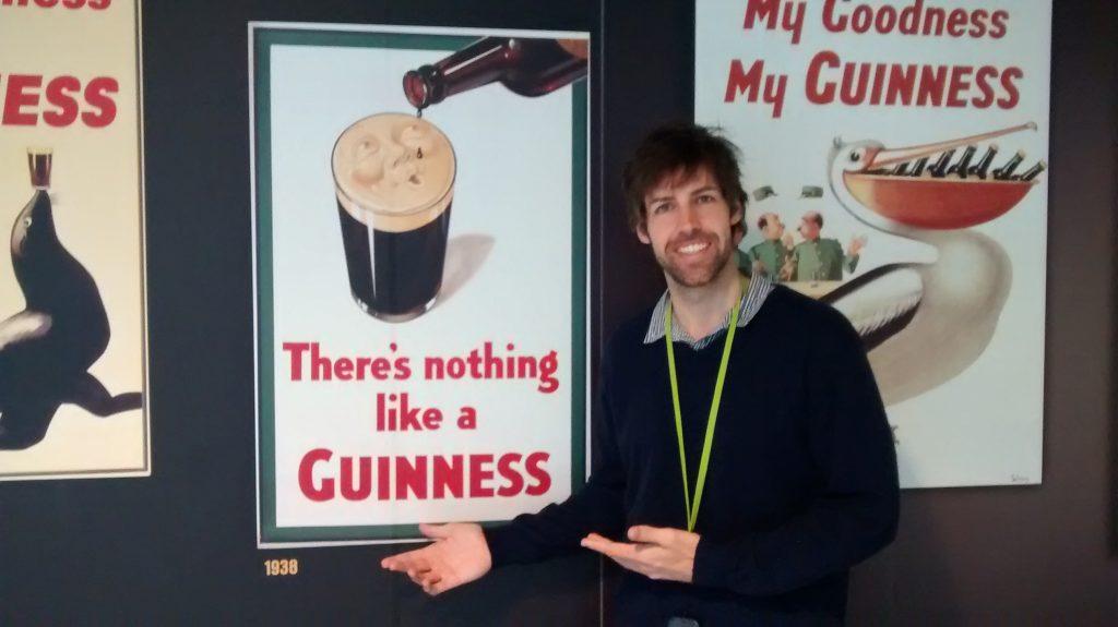 Propagandas da Guinness em Dublin
