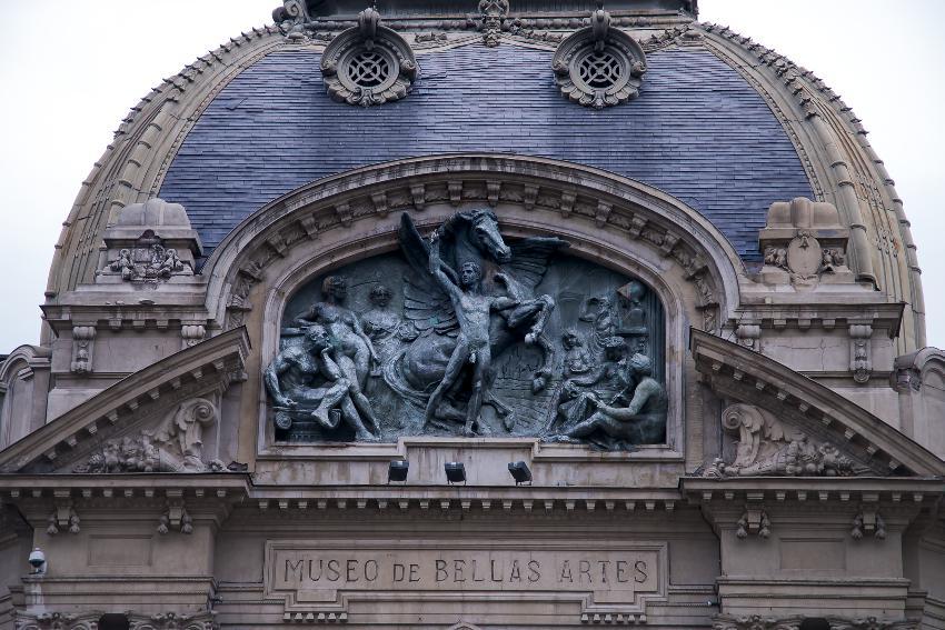 Museu de Belas Artes no Chile