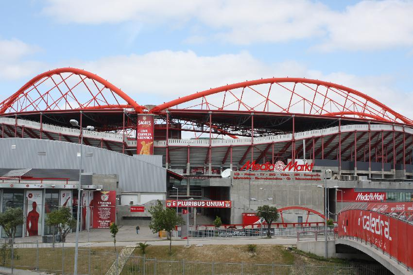 "Estádio da Luz: a ""Catedral"". Foto: Tom Brogan, CC BY-ND 2.0"
